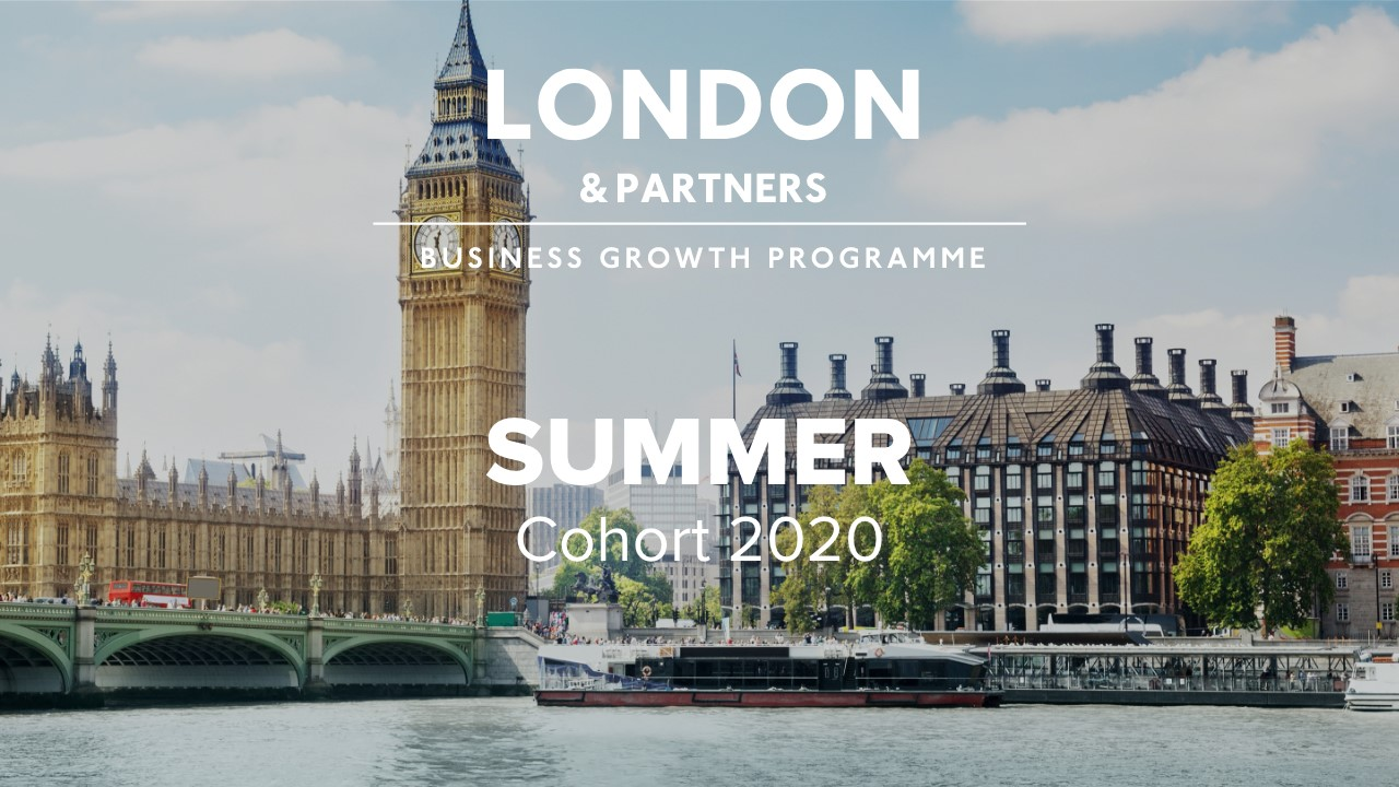 MediSieve selected for the London & Partners' Business Growth Programme