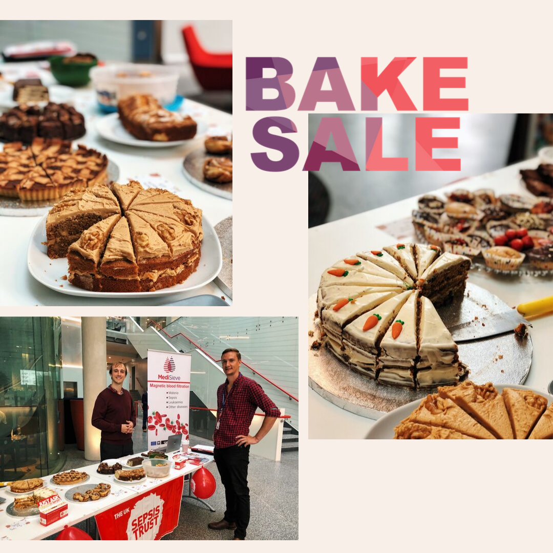 Bake Sale in support of the UK Sepsis Trust