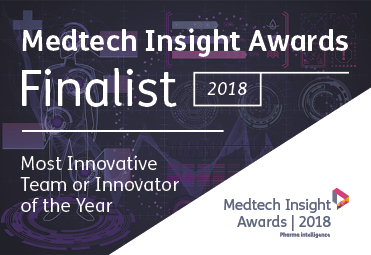 MediSieve announced as finalist in Medtech Insight Awards 2018