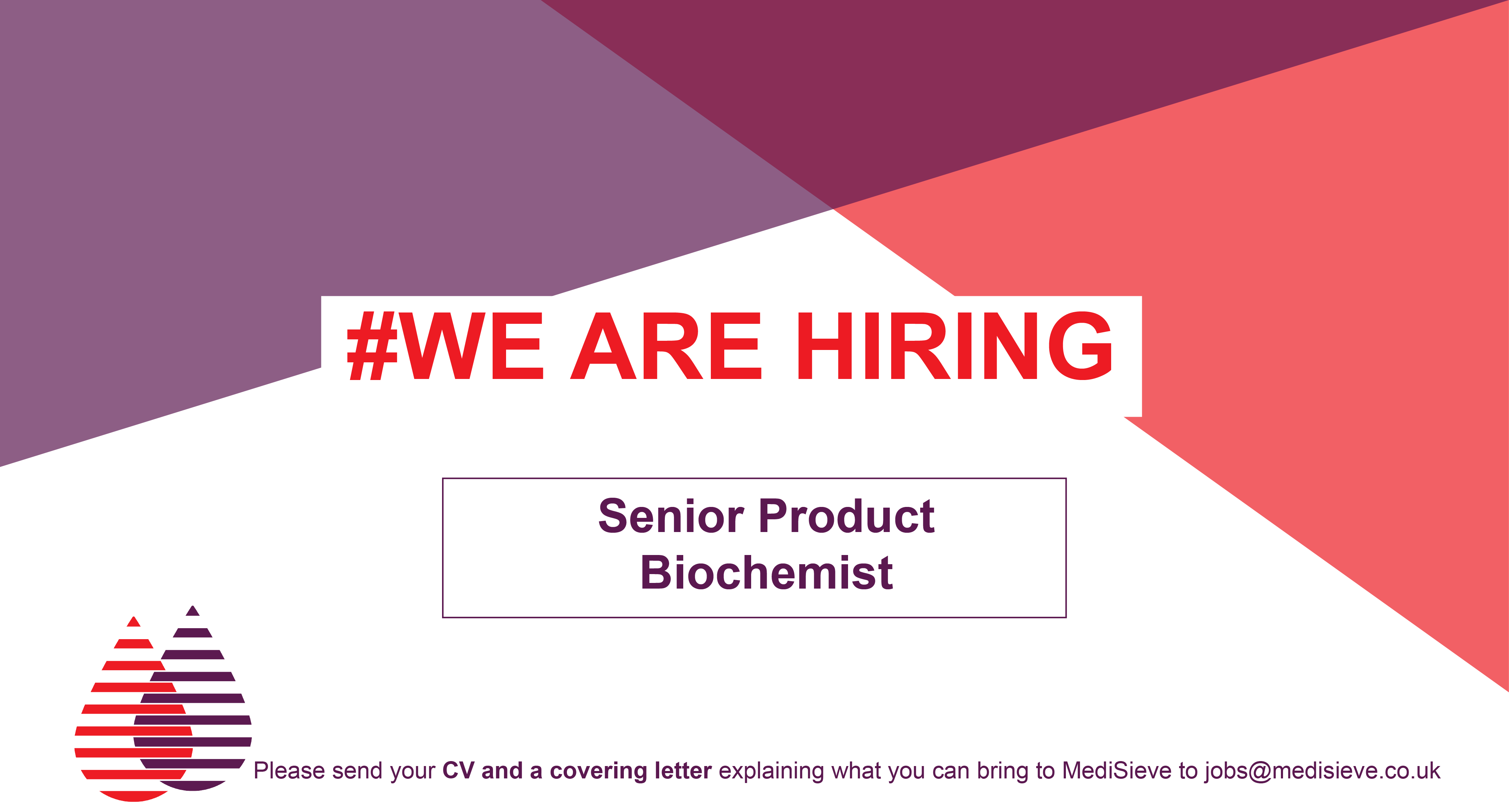 Job Posting: Senior Product Biochemist